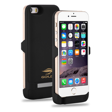 Goldfox For iphone 5 5S SE Smart Phone 4200mAH Rechargeable External Battery Backup Charger Case Cover Pack Power Bank