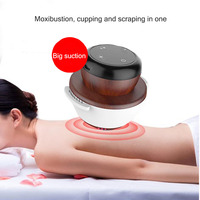 Portable Smart Smokeless Moxibustion Device Electric Body Wormwood Moxa therapy Warm uterus cold gynecological health massager