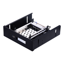 Uneatop ST5514S Single Bay 2.5 inch SATA HDD/SSD Mobile Rack Enclosure Silver Door