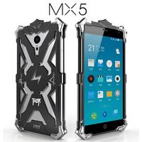 Luxury For Meizu MX5 MX 5 Back Cover Simon THOR IRONMAN Shockproof Metal Aluminium Frame Anti