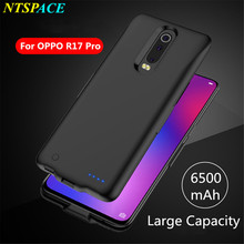 Portable Battery Charger Cases For OPPO R17 Pro Battery Case 6500mAh Power Bank Case Charging Cover Extenal Battery Cover