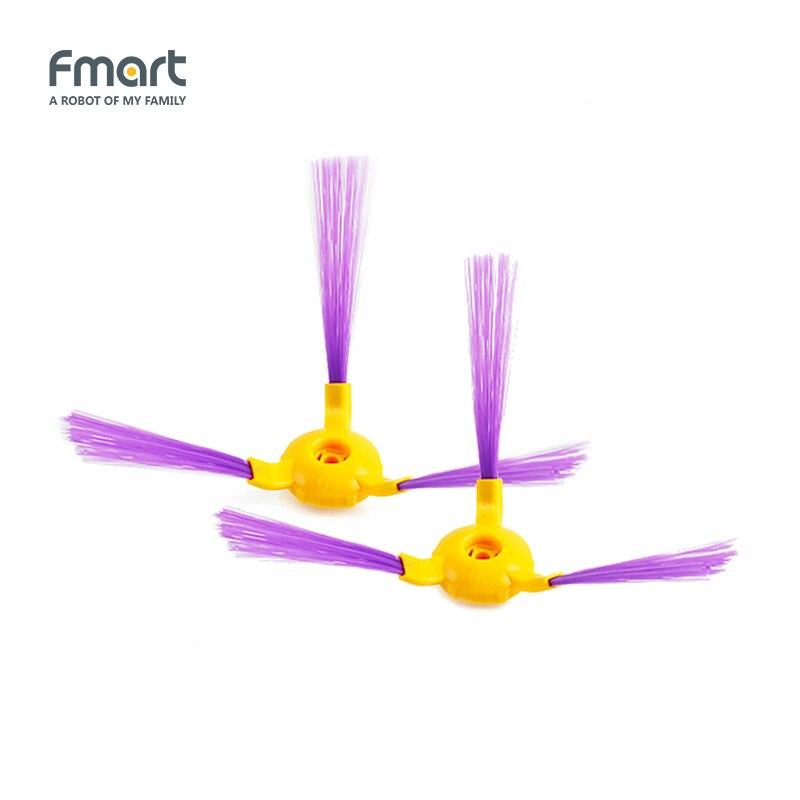 все цены на Side Brushs For Fmart Cleaners YZ-Q1 YZ-Q2  E-R550W E-R302G FM-R150 ZJ-C1 FM-R330  Color yellow or black онлайн