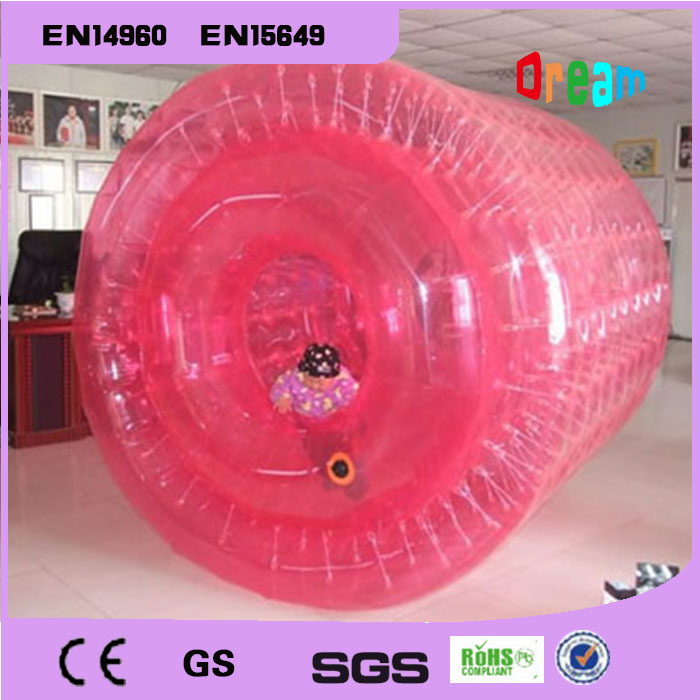 Free Shipping PVC 2.2m Colorful Inflatable Water Walking Ball Water Paly Equipment Water Roller Ball Aqua Rolling Ball