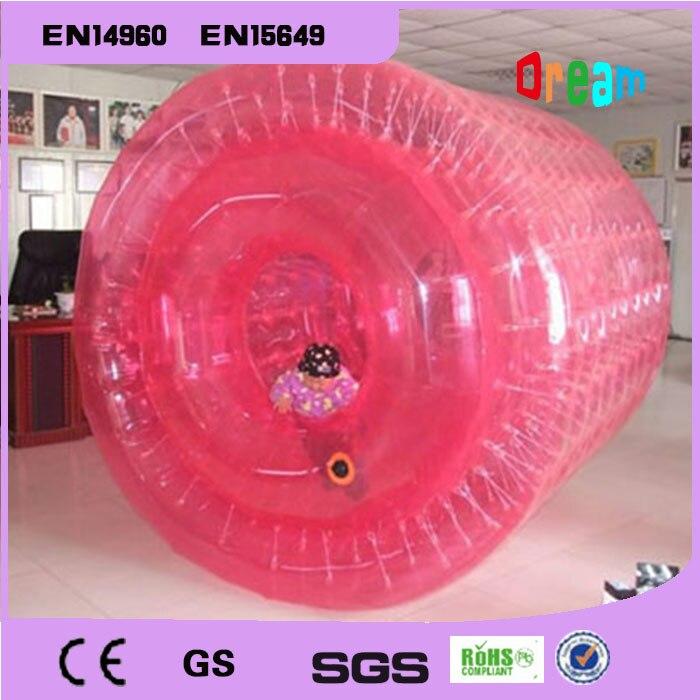 Livraison Gratuite PVC 2.2 m Coloré Gonflable Marche de L'eau de L'eau Paly Équipement Rouleau de L'eau Boule Aqua Bal