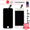 Calidad aaa sin píxeles muertos para iphone 5 5s 5c 6 plus 6 s para Iphone5 para iphone6 LCD display de Pantalla Táctil Digitalizador asamblea