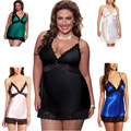 Plus Size baby doll sexy lingerie hot women exotic apparel sleep wear babydolls chemises XL -4XL