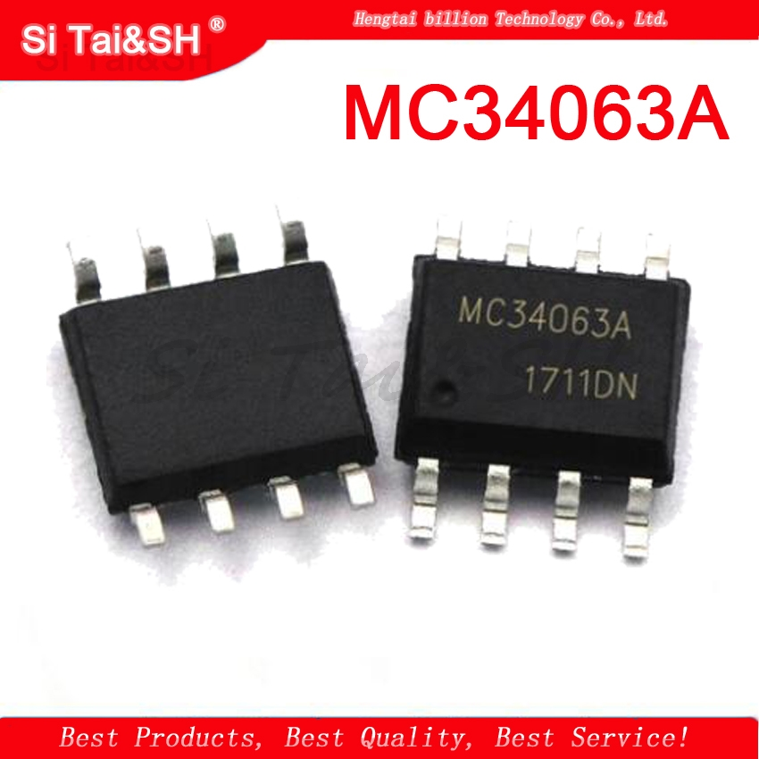 10pcs  MC34063ADR2G MC34063 MC34063A 34063 SOP-8