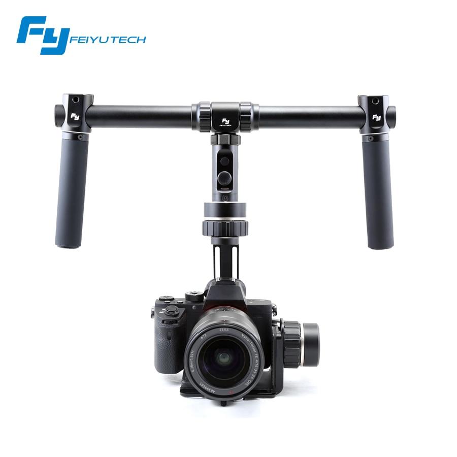 Feiyu FY-MG V2 3-Axis Handheld Mirrorless Camera Gimbal For Sony A7/A7R/A7S/A7II/GH4/NEX-5N/A7RII/ILCE-7R/5100/Canon 5D Mark yuneec q500 typhoon quadcopter handheld cgo steadygrip gimbal black