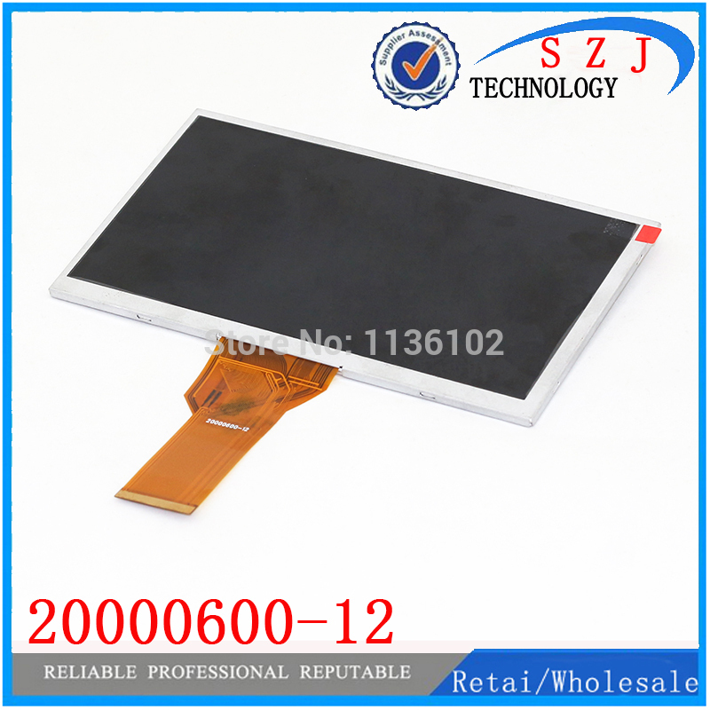 Original 7 inch tablet pc LCD display for innolux AT070TN94 flex cable 20000600-12 LCD screen Free shipping free shipping originalnew 9 inch lcd screen cable number fvi900c001 50a