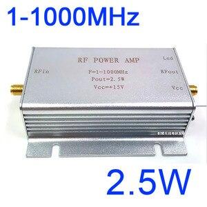 1-1000 MHz 2.5 W HF VHF UHF FM transmetteur RF amplificateur de puissance ampli pour Radio à ondes courtes Radio sans fil télécommande talkie-walkie