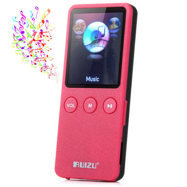 "RUIZU X08 Speaker sport 1.8""Screen 8GB 200 Hours Sport Digital MP3 Player Music Vedio Players TF FM HIFI Stereo Radio walkman"