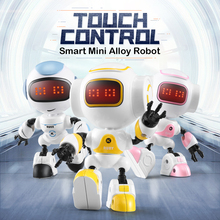 JJRC Intelligent R8 RUKE / R9 Ruby Touch Control DIY Gesture Mini Smart Voiced Alloy Robot Christmas Gift Children Toys