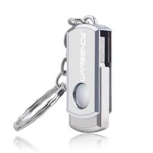 Stainless Steel USB 3.0 pen drive 4gb 8gb 16gb usb flash drive 32gb 64gb with keychain