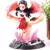 Anime One Piece Action Figure Angel Nami PVC Collection GK Nico Robin Model Toy Birthday Gift 18cm