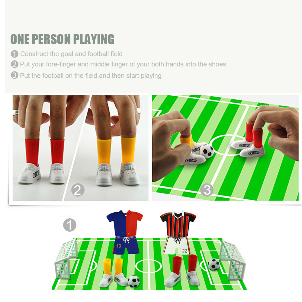 Fingertip Soccer Mini Soccer Game Finger Football Toys Match Funny