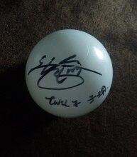 Firmato sfera DUE VOLTE Tzuyu autografato concerto sfera limitata verison K POP 012019