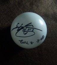 Unterzeichnet ball ZWEIMAL Tzuyu signiert konzert ball begrenzte verison K POP 012019