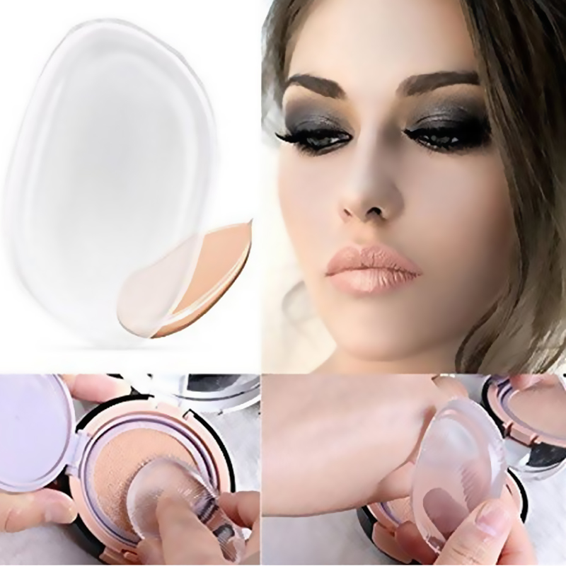 Cosmetic Puff Nice Face Beauty Face Makeup Smooth Easy To Wear Silicone Cosmetic Puff Women Liquid Foundation Concealer For Makeup Puff Tools Low Price Beauty & Health