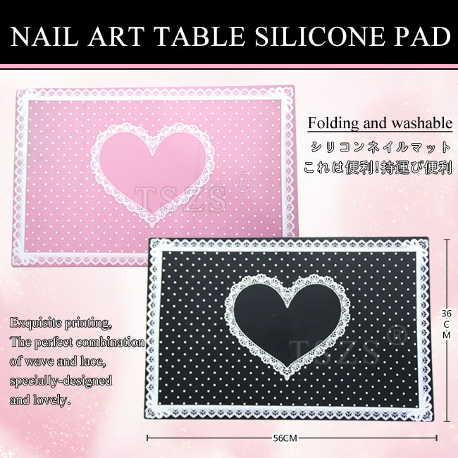 1 pcs/lot Nail Art Souple Main Titulaire Coussin table silicone Pad Nail Manucure