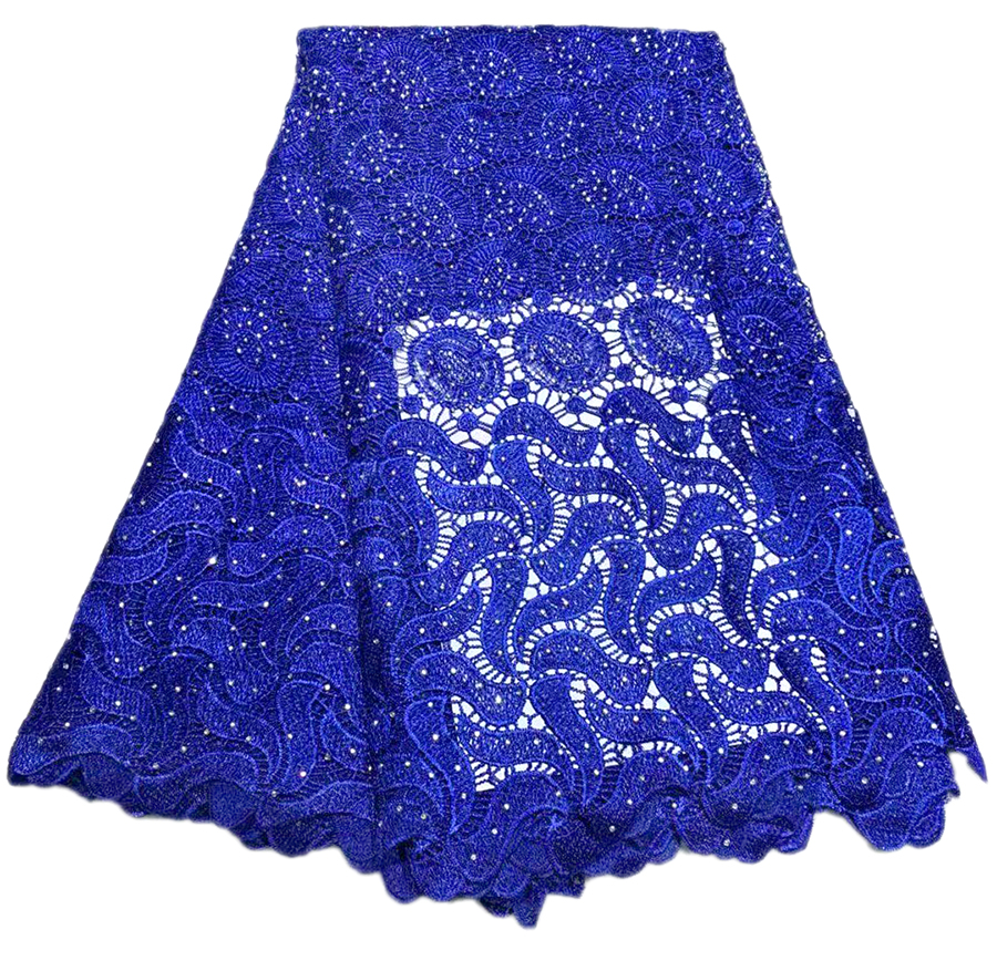 Embroidered Guipure Lace Fabric With Stones For Sewing Dress High Quality Nigerian Tulle Mesh African Cord Lace FabricEmbroidered Guipure Lace Fabric With Stones For Sewing Dress High Quality Nigerian Tulle Mesh African Cord Lace Fabric