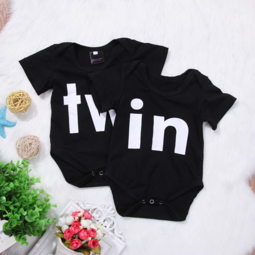 Clothing Shoes Accessories Outfits Sets Usa Twins Baby Boys Girls Romper Newborn Jumpsuit Bodysuit Infant Outfit Clothes Sraparish Org