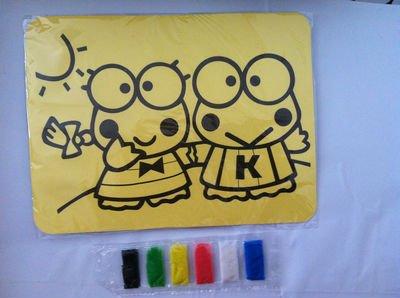 1000 шт./партия, цветная Песочная живопись, наборы для Хэллоуина, игрушки для детей