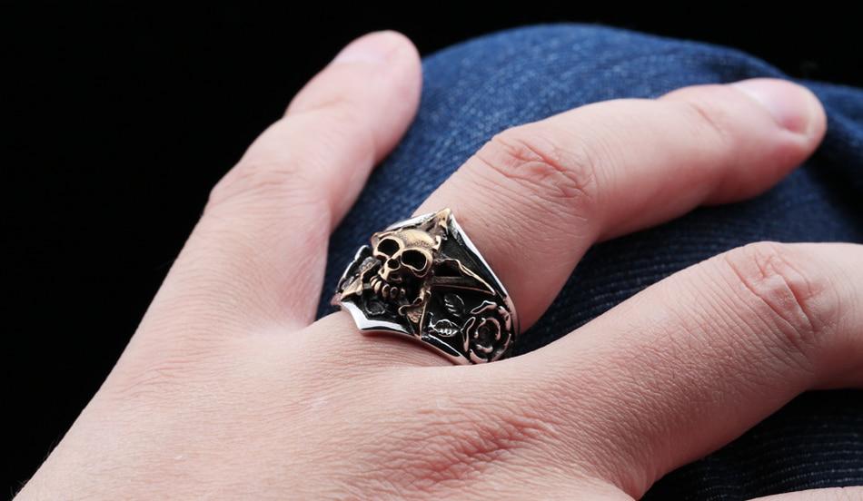 แหวนโคตรเท่ห์ Code 023 แหวนดาวห้าแฉก สแตนเลส11