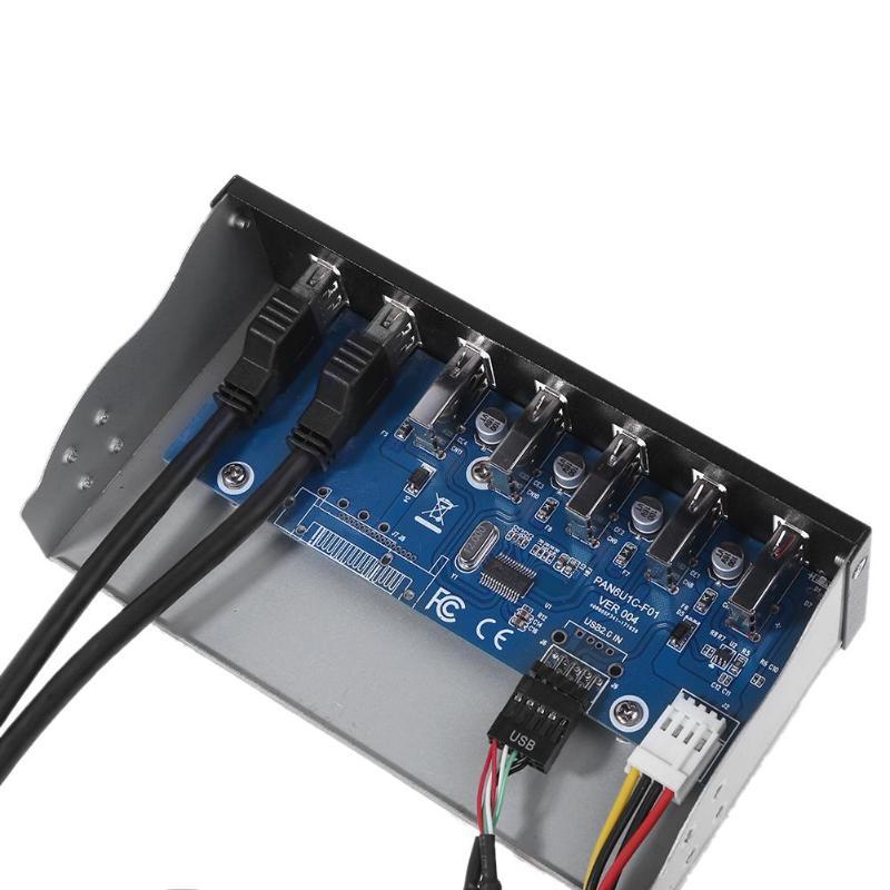 7 Port USB 3.0 Hub 5Gbs 5.25