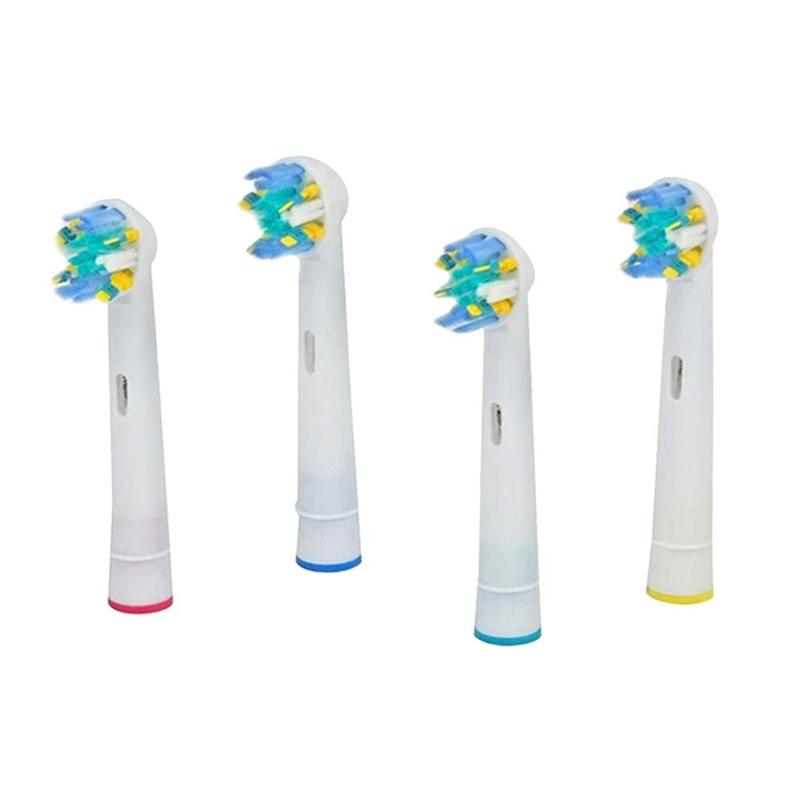 High Quality 4pcs/pack EB-25A Cleaning Electric Toothbrush Brush Heads Sensitive And Soft Oral Care Oral B Vitality Dual Clean image