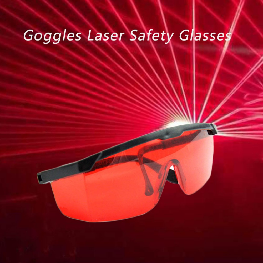 1 Set Red Blue Goggles Laser Safety Glasses 190nm To 540nm Laser Protective Eyewear With Velvet Box
