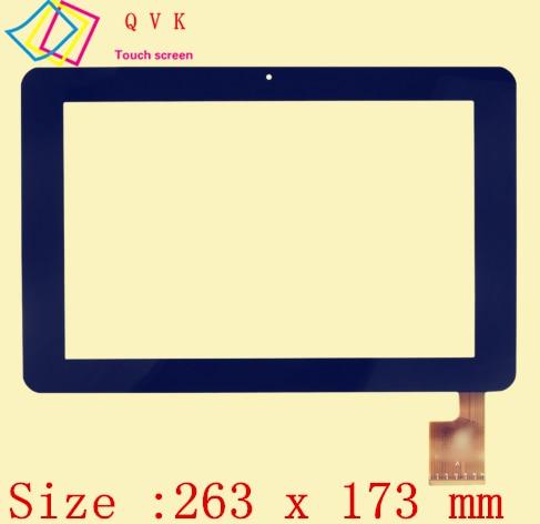 Black 10.1 Inch for Sanya N10 AMPE A10 Quad  Core TPC0323 VER1.0 Touch Screen Panels Digitizer Tablet PC Hiapad M10
