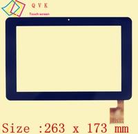 Czarny 10.1 Cal dla Sanya N10 AMPE A10 Quad Core TPC0323 VER1.0 Dotykowy Panele Ekranowe Digitizer Tablet PC Hiapad M10