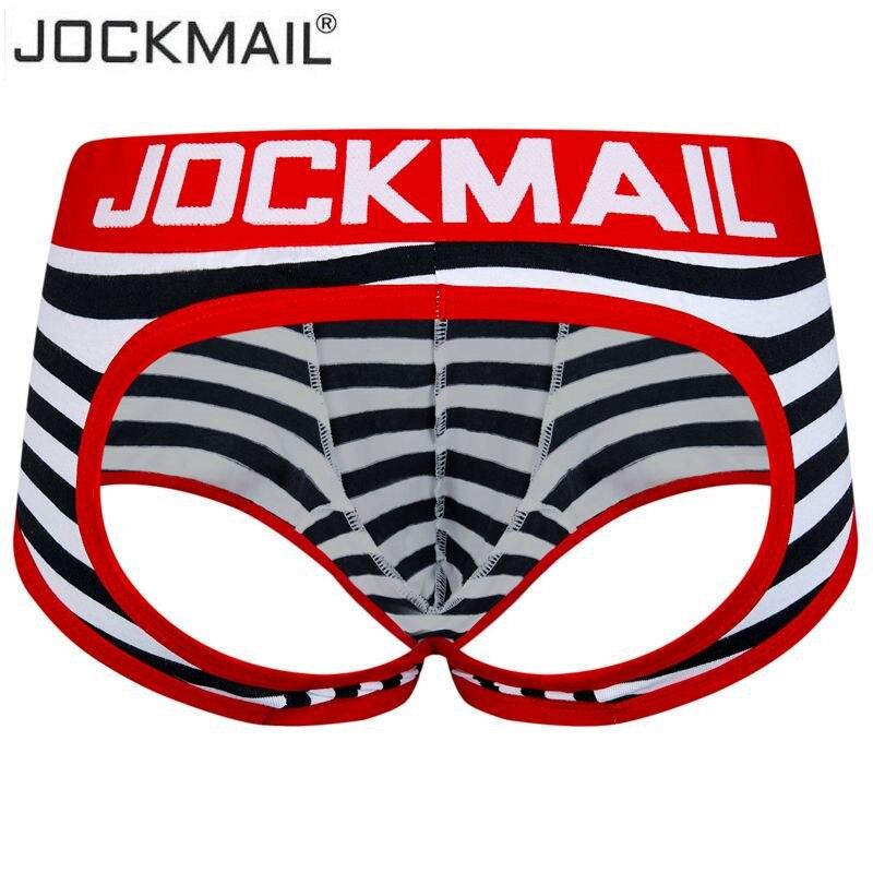 c2c6264f9 Marca de moda Bolso Pênis Dos Homens Sensuais Sem Encosto Cueca Jock Strap  Man Thongs G-Cordas Gay Homens Underwear Calções Dos Homens jockstraps