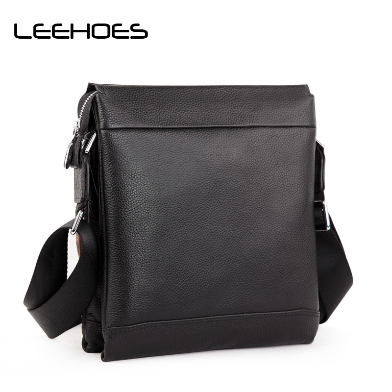 Men's Real Leather Messenger Bag Fashion European and American Style Popular Models Leather Men Bag British Business Casual Bags 2017 fashion european popular 100