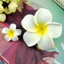 2 sztuk słoneczny jasny kwiat plumerii zdjęcia w tle akcesoria DIY dekoracje dla kosmetyczne biżuteria prezenty fotografia ozdoby