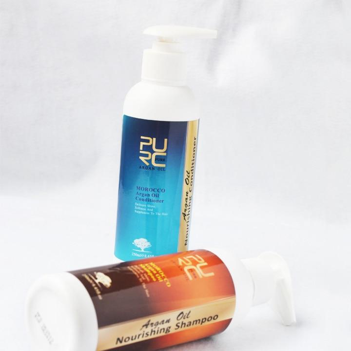 Fas yağı saç şampuanı saç kremi saç maskesi için argan yağı - Saç Bakımı ve Şekillendirme - Fotoğraf 2