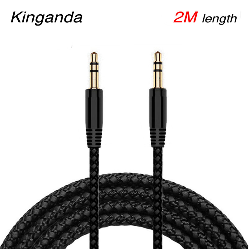 2m 3m 5m 3.5mm Aux cable Male to 3.5mm Jack Male AUX Audio Stereo Headphone Cable 3.5 mm Aux Audio Cable Cord for Phone Earphone image