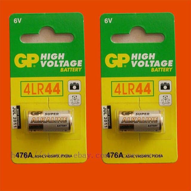 Новый 2 X GP 4LR44 476A PX28A A544 RFA-18-11 6 В батареи отправляем по всему миру