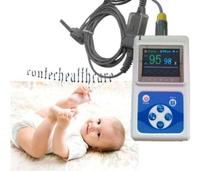 NEW,Infant used TFT Colour Big Screen Display Pulse Oximeter+Analisys Software
