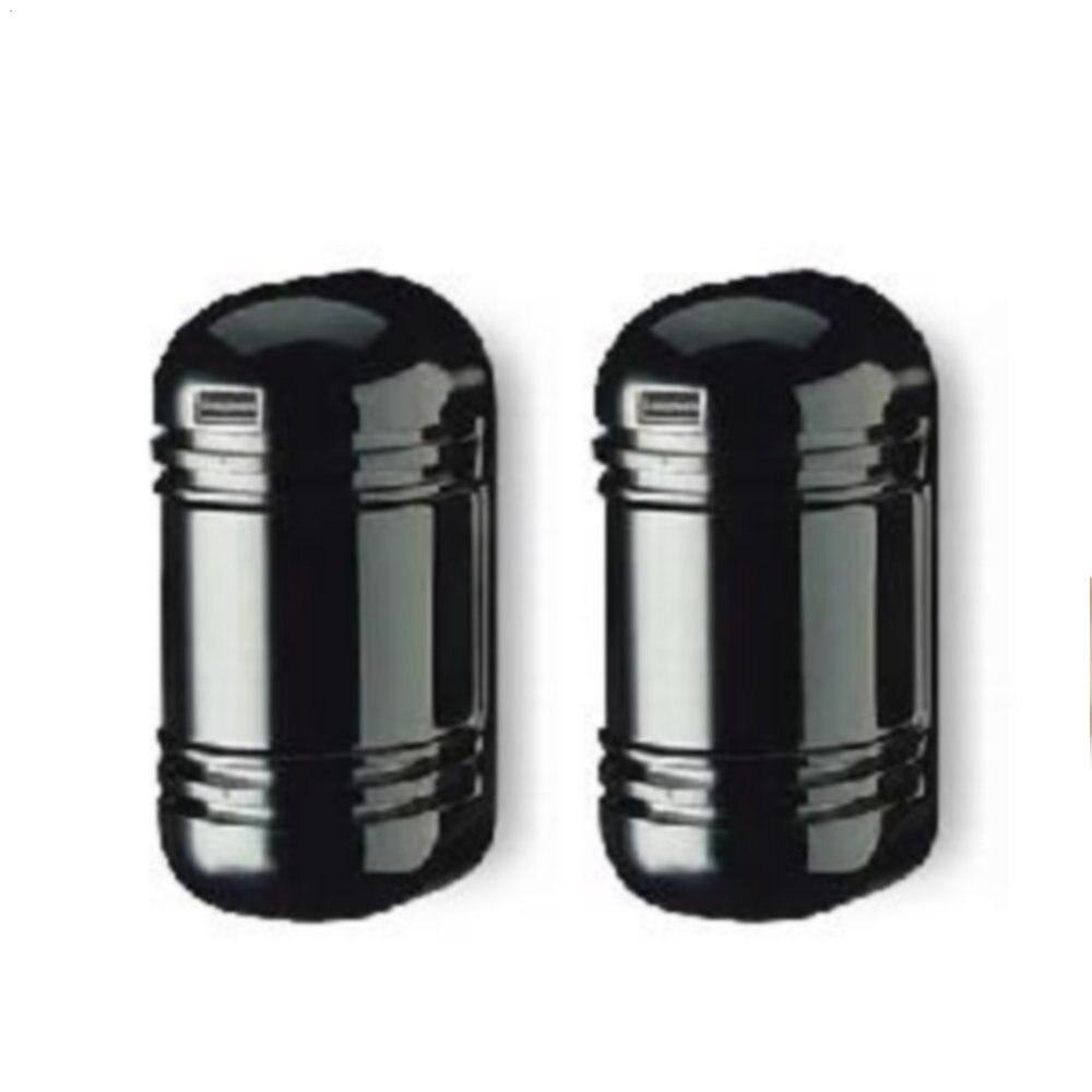 60M Alarm Dual Beam Photoelectric Infrared LED Detector Tamper Alarm Output