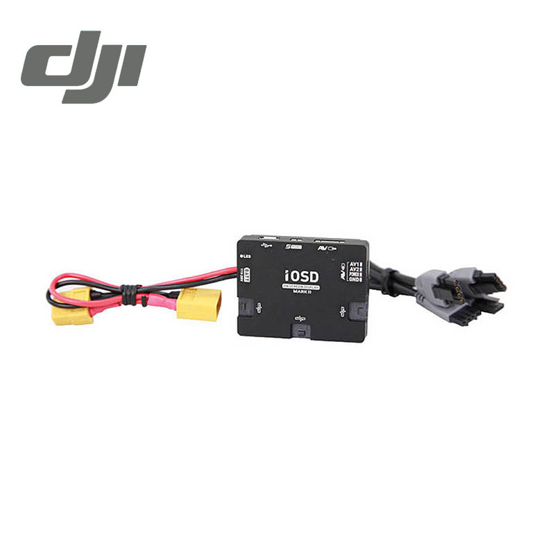 DJI IOSD MARK II Output Module for A2 / WKM / Naza M / Naza M V2 Data & Video Signal Superposition Original Accessories