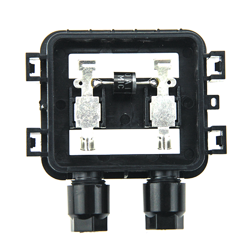 15 Pcs 10A Waterproof IP67 Connector Solar Junction Box For 10W 50W Solar Panel