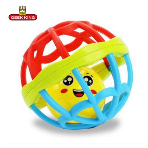 0 12 months Lovely Funny Baby Rattles Plastic Music Novelty Hand Shake Bell Ring Early Learning Educational Toys Rattles toys in Baby Rattles Mobiles from Toys Hobbies