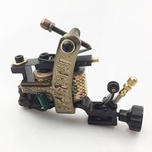 Damascus Handmade Tattoo Machine coils Gun 10 Wraps Coils For Tattoo Gun Machine Needle