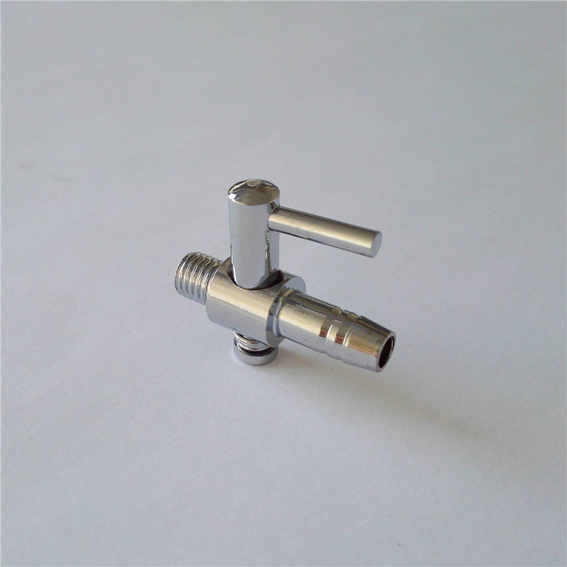 4mm Stainless Steel Aquarium Tank Air Pump Air Flow Tube Pipe Line Stainless Steel Control Valve Air Pump Accessories