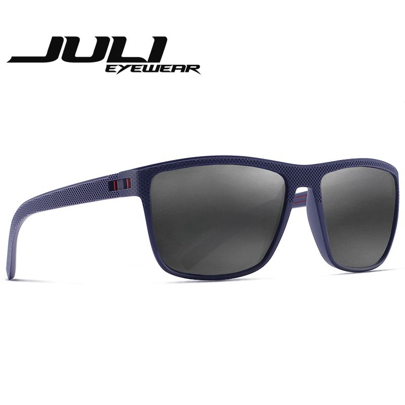 03f8b69d9e0 JULI BRAND DESIGN Retro Polarized Sunglasses For Men Fashion Square Driving  Eyewear Traveling Sun Glasses Oculos