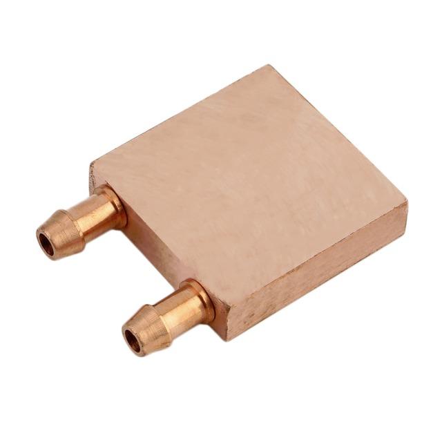40*40*10mm Bronce Bloque Disipador CPU bloque de Agua De Refrigeración de Agua Líquido Refrigerador de Cabezal Láser Industrial Gabinete de Control envío Gratis
