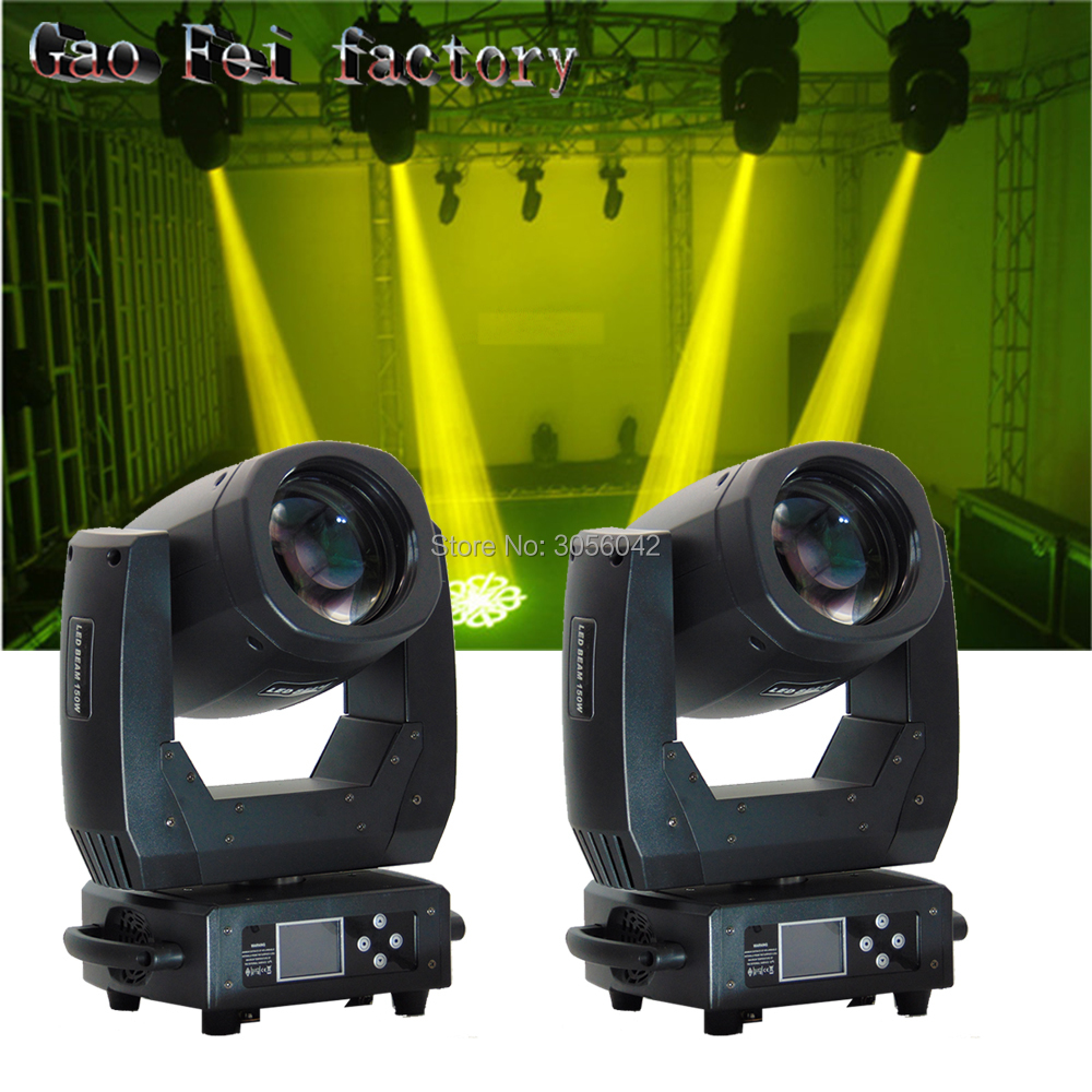 2PCS/LOT DMX 512 ZOOM Function led beam 150W LED Moving Head Light Professional DJ 8 prism Effects Stage Lighting new type dmx 512 132w beam 2r moving head light professional stage