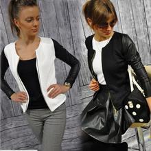 Куртка-бомбер женская демисезонная, авиаторская куртка, бейсбольные куртки, черные белые