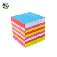 YUXIN ZHISHENG HUANGLONG Magic 9*9*9 Puzzle Cube Stickerless Educational Toys Gifts